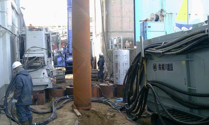 平成23年度 高浜水門(改良)耐震補強工事